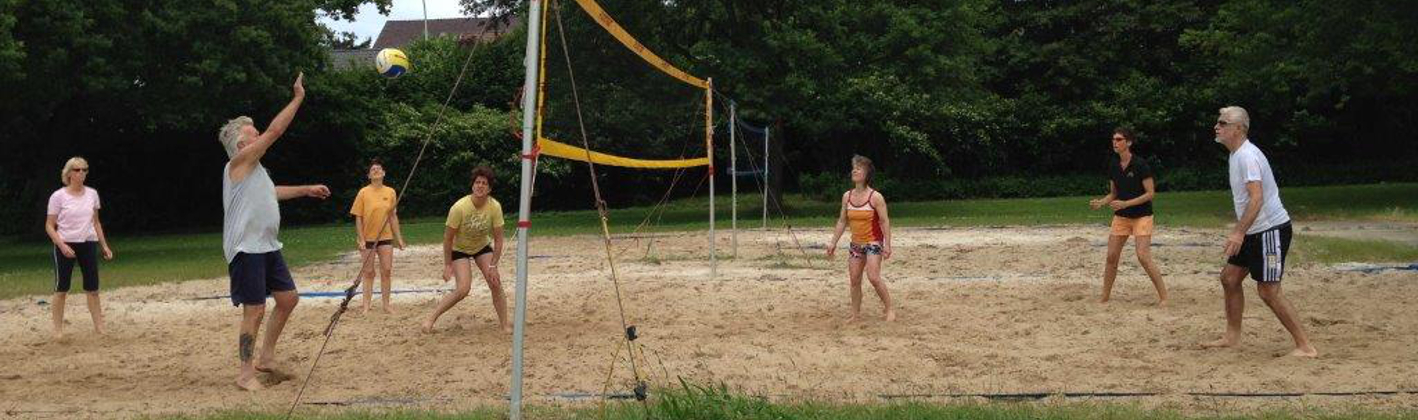 Volleyball Training Beach